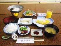 【朝付】かけ流し湯に浸かった翌朝は体に優しい和朝食
