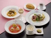 【夕食一例】徳島の絶景を望むなら、スカイレストランベルビューへ