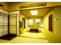 【部屋】一番広和室。/一例