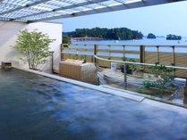 天からの恵といえる太古天泉「松島温泉」の湯を心ゆくまでお楽しみください。(女性側露天風呂のイメージ)