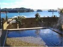 露天風呂汐音、潮風を頬に受け松島湾の景観と松島温泉「絹肌の湯」を楽しむ