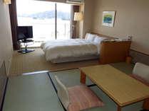お部屋から松島湾をお楽しみ下さい(6畳+シングルベッドルームの一例)