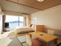 オーシャンビューを楽しめる海側客室(定員3名)