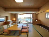 芭蕉亭海側和室の一例