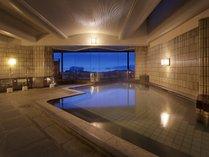 松島温泉「絹肌の湯」内風呂(女性側)