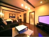 【特別室 萌~moe~】スタイリッシュな空間+自然満載のプライベートガーデンが備えられた憧れの特別室