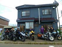 1人旅のお客様、車・バイク・自転車の旅人さん大歓迎!