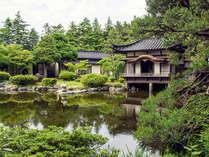 【直前割】初夏の日本庭園を眺める「離れ菊芳庵」20%オフ◆◆温泉石風呂付離れでのんびり~じゃらん限定