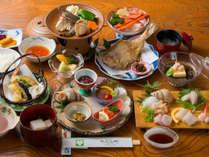 【一泊二食】スタンダードプラン!地元・黒部の新鮮魚介×生地の郷土料理の「旬菜会席」