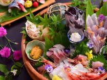 立山からのミネラルたっぷりの雪解け水が、富山湾の美味しい魚を育てます。