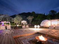 ◆フォレストドーム(グランピング用ドーム型テント)