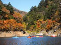 ◆奥木曽湖カヌー体験(紅葉シーズン) 車で約30分