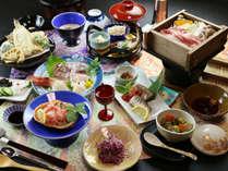 ◆【スタンダード一例-冬季-】秋と冬のお料理は越後もち豚の地酒蒸しで体の中からぽかぽか♪