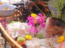 【じゃらん限定♪相差☆大漁盛り】平目の「活造り」をメイン!伊勢エビ、鮑も♪豪快に味わう網元料理を満喫
