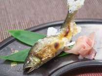 【夕食】鮎の塩焼き《お部屋食》