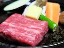 【夕食】飛騨牛A5等級70グラムのステーキ☆
