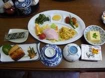 朝食の一例です