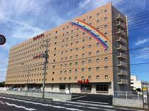 【外観】岩国最大のビジネスホテル