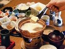 嬉野名物 温泉湯豆腐は、朝食に!!
