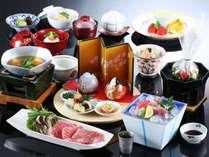 【作りたての美味しさを料亭で】黒毛和牛と旬の味覚を堪能◆旬菜会席