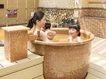 【露天】家族で仲良く露天風呂♪