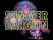 この夏限定のサマーバーゲン★2~4名様までは1室定額の特別プラン