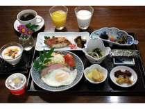 旬食材を使った和朝食