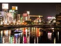 【博多区】中洲・那珂川夜景[提供:福岡市]