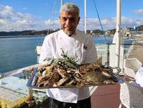 【特別企画】海を臨むレストラン・牡蠣と蟹のディナーとシャンパンブレックファースト(夕・朝食付/禁煙)