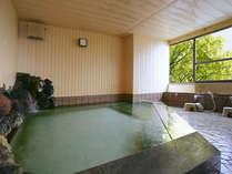 【広々とした大浴場 花香る湯「やまぶき」】旅の疲れを癒してください。