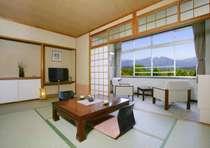 【東館4F~2F・スタンダード・和室8畳】全8室。リーズナブルながらも当館自慢の景色は変わりません。