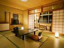 【東館3F~2F・スタンダード・和室10畳】小学生のお子様のいるファミリーにオススメのお部屋です。