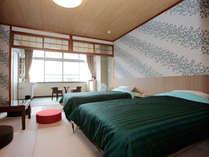 【禁煙】東館3F・和洋室10畳・ツインルーム