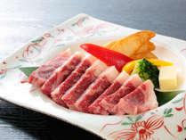 【人気No.1 上州牛ステーキ付プラン】肉好きの方必見。200gあり食べ応えがあります。