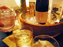 【19年1月6日より】3種の貸切風呂、夕食時飲み放題、冷蔵庫飲料無料! 晴観荘スタンダードプラン