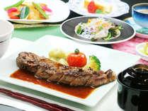 お箸で洋食膳◆リーズナブルでありながら、お肉もお魚も楽しめるコース