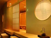 竹の家・座敷