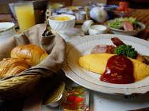 【選べる朝食(洋食)】夕食時にお選びいただきます
