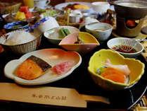 【選べる朝食(和食)】夕食時にお選びいただきます