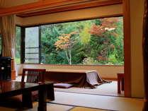 【水上山荘の四季~紅葉】客室一例