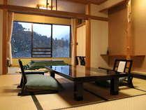 【B】スタンダード客室 雪景色(一例)