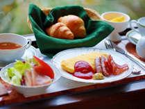 【洋朝食】選べるドリンクなど卵料理やパンを味わいたい方にお勧め