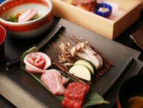 【台の物一例】~和風~群馬が誇る3種類のお肉を味わえます~上州牛、赤城鶏、上州豚~