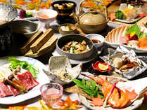 ≪9月~11月≫香り豊かな松茸など旬の食材を堪能いただける「秋の味覚会席」