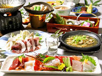 ≪12月~2月≫冬季限定のお楽しみ!伊豆の名物料理 牡丹鍋会席