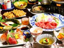 ≪3月~5月≫鯛のグリルに厳選牛肉、桜海老。「桜」の季節を感じる「桜物語会席」