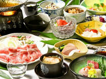 ≪6月~9月≫薬膳豚のしゃぶしゃぶ、金目鯛など夏の美味を満喫する「撫子会席」