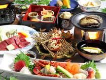 ≪10月~11月≫希少な愛鷹牛、鮑の踊り焼きなど料理長こだわりの美食の数々「秋月会席」