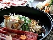 【料理一例】松茸すき焼き