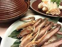 【料理一例】北海道産蟹すき鍋
